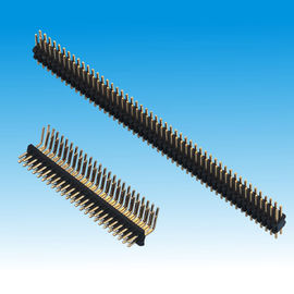 1.27mm Pin Header Dual Row Straight Right Angle
