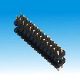 Spacer Straight Pin Header Dual Row Right Angle Current Transmission