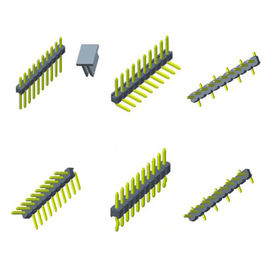 Single Row SMT PCB Header Connector , 2mm Pin Header 1.5AMP Rated Current