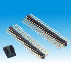2.00mm Pin Header Dual Row Right Angle SMT
