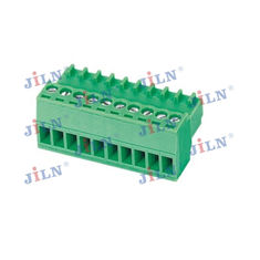China Steel Screw Terminal Block Connector , Pcb 2.54mm Header Connector factory