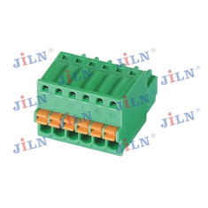 China Green Color 2.5mm Pluggable Terminal Block For Print Circuit Board factory