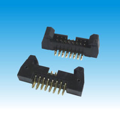 Short Latch Male Pin Header Connector , 2mm Pitch Header Straight Connector