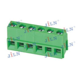 China 5.08 Mm Universal Pcb Terminal Block Female Brass Contact JL500 factory