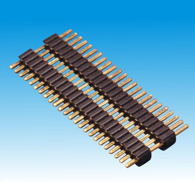 1.27mm 0.40SQ Board Spacer Single Row Straight Right Angle