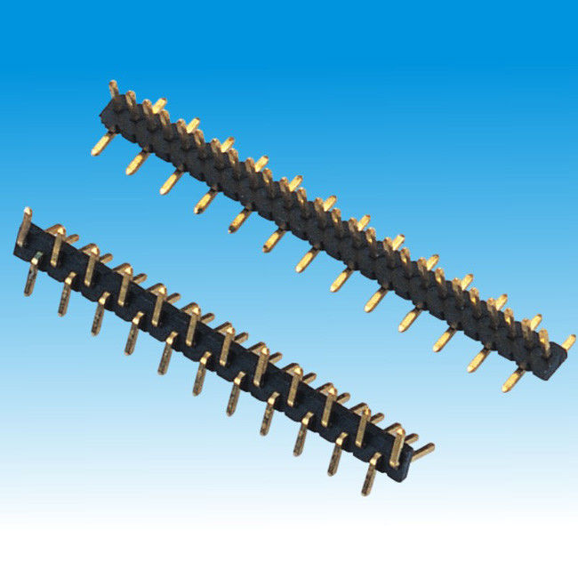 1.27mm 0.40SQ Pin Header Single Row SMT
