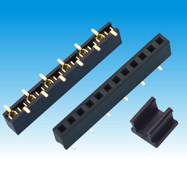 2.0 mm Pitch H 4.3 Single Row Female Header Connector SMT U Type Contact