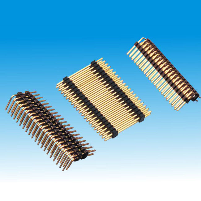1.27mm Board Spacer Dual Row Straight Right Angle