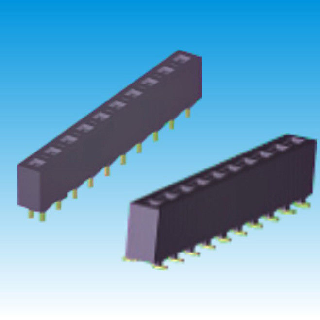 SMT Tin Female 3.96 Mm Pitch Connector Height 8.89 Single Row