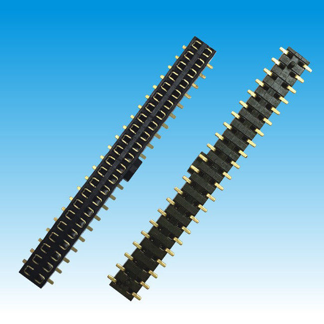 2.0 mm Pitch Height 4.5 Dual Row Female Header Connector SMT Type