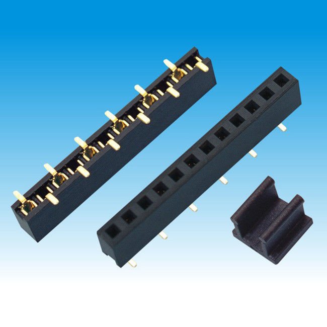 2.0 mm Height 5.8 Single Row Female Header Connector SMT U Type Contact