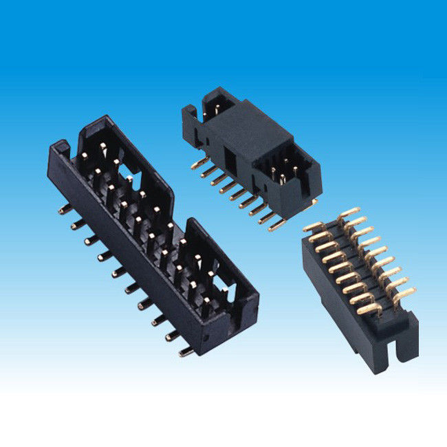 SMT 2mm Pitch Box Header , Surface Mount Headers Height 6.35 High Accuracy